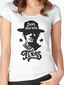 Dont Mess With Texas Women's Fitted Scoop T-Shirt