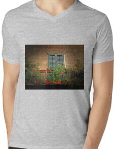 The Balcony Garden Mens V-Neck T-Shirt