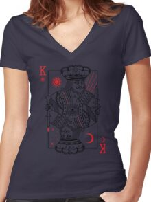 The Man Of New Order World Women's Fitted V-Neck T-Shirt