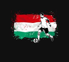 Soccer - Fußball - Hungary Flag Unisex T-Shirt