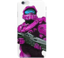 Lilac Spartan iPhone Case/Skin