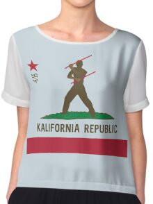 Kalifornia Republic Kali Silat Filipino Martial Arts Chiffon Top