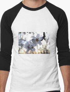 Almond Blossom @ sunset Men's Baseball ¾ T-Shirt