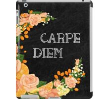 Crescent bloom | Oranges and roses iPad Case/Skin