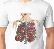 Flower Ribs Unisex T-Shirt