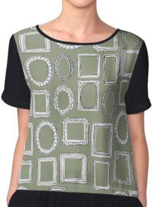 picture frames herb Chiffon Top