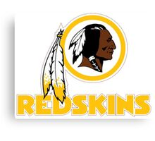 REDSKINS LOGO Canvas Print