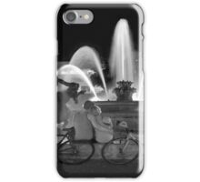 Sweethearts at the J.C. Nichols Fountain, Kansas City iPhone Case/Skin