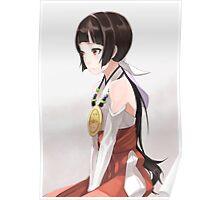 Amayadori Machi Grown Up - Kuma miko Poster