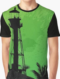Sanibel Lighthouse 2011 Graphic T-Shirt