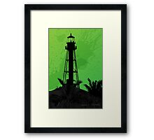 Sanibel Lighthouse 2011 Framed Print