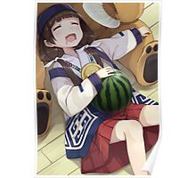 Sleeping With Watermelon Poster