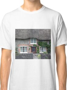 Thatched Roof House in Ireland Classic T-Shirt