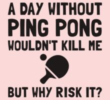 Risk It Ping Pong One Piece - Long Sleeve