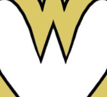 Heart of a Warrior  Sticker