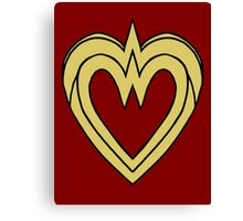 Heart of a Warrior  Canvas Print