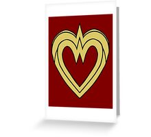 Heart of a Warrior  Greeting Card