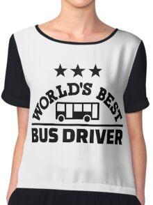 World's best bus driver Chiffon Top