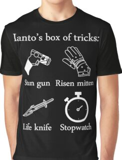 Ianto's box of tricks (white) Graphic T-Shirt