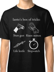 Ianto's box of tricks (white) Classic T-Shirt