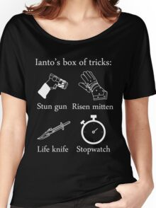 Ianto's box of tricks (white) Women's Relaxed Fit T-Shirt