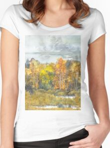 autumn 300 Women's Fitted Scoop T-Shirt