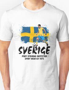 Soccer - Fußball - Sweden Flag Unisex T-Shirt