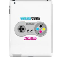 Color Your World iPad Case/Skin