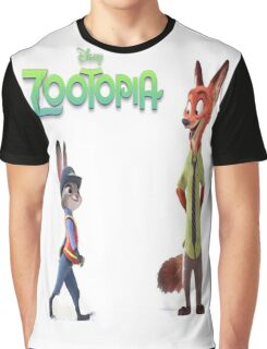 Zootopia Nick & Judy Graphic T-Shirt