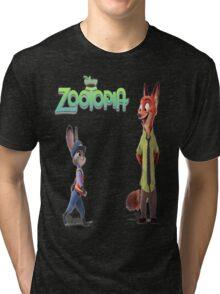 Zootopia Nick & Judy Tri-blend T-Shirt