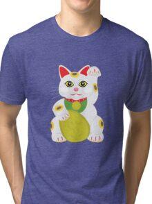 Christmas cartoon art Tri-blend T-Shirt