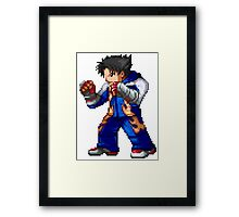 Jin Kazama Framed Print
