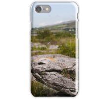 Burren Rock on Galway Bay iPhone Case/Skin