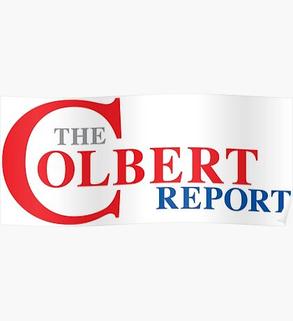 The Colbert Report Poster