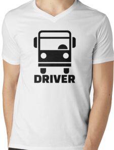 Bus driver Mens V-Neck T-Shirt