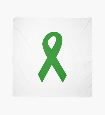 Green Ribbon Scarf