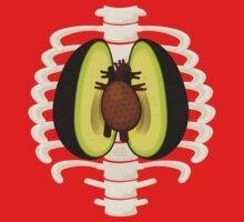 Avocado Anatomy One Piece - Short Sleeve
