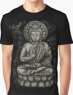 Zen Silver, Buddha 1 Graphic T-Shirt