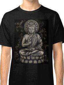 Zen Silver, Buddha 1 Classic T-Shirt