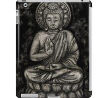 Zen Silver, Buddha 1 iPad Case/Skin