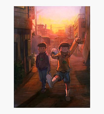 Going Home - Osomatsukun Photographic Print