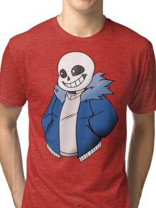Undertale Sans Colored Tri-blend T-Shirt