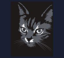 Black cat cartoon silhouetteCat silhouette cat silhouette Kids Tee