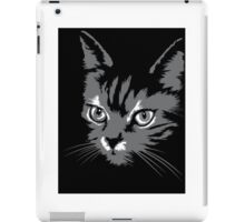 Black cat cartoon silhouetteCat silhouette cat silhouette iPad Case/Skin