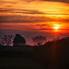 The Observatory at Sunset by Yukondick