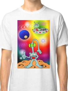 Alien Cartoon Classic T-Shirt