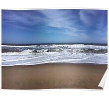 Va Beach Waves Poster