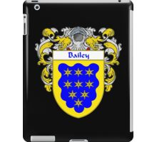 Bailey Coat of Arms/Family Crest iPad Case/Skin