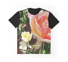 Pretty Pink Tulip in Full Bloom Graphic T-Shirt