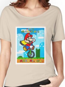 Mario Uni (MKE Edition) Women's Relaxed Fit T-Shirt